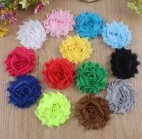 flower crown  headwraps  cheer bows gauze flower head flower children tiara bride shabby flowers  satin headbands
