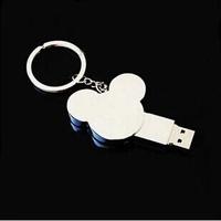 Free Shipping 4GB 8GB 16GB 32GB 64GB Cute Cartoon Mickey Mouse Memory Stick USB Flash Memory Drive Pen Drive Pendrive