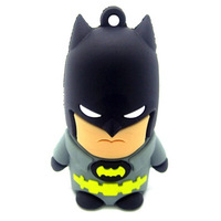 Super man Group Batman Captain America Green Lantern Super-Man 8GB/16GB/32GB/64GB USB flash drive memory stick Free shipping