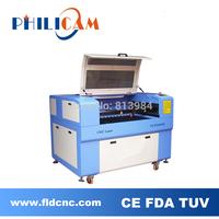 Low price Philicam 80w CO2 laser machine 6090/wood laser engraving machine 9060