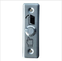 Stainless steel door switch button Entrance guard push button Entrance guard door switch doorbell switch normally open type