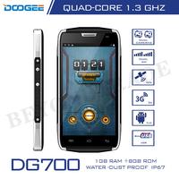 Doogee Titans2 DG700 IP67 Waterproof Phones MTK6582 Quad Core Mobile Phone 1G RAM 8G ROM 4.5''IPS 8.0MP Camera Android Phones