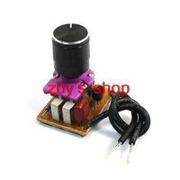 Bedroom Knob Adjustable Light Controller Dimmer Switch w Potentiometer