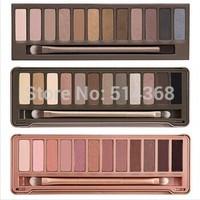 2014 New DECAY Eye shadow 12 color Eye shadow palette N k3 (1pcs/lot)