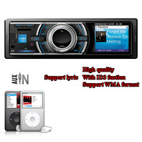 High quality with ID3 TAG Car MP3 Player Radio Car Fix Panel FM transmitter player USB SD