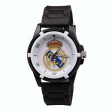 Hot Sale Fashion Outdoor Sports Men Wrist Watch Real Madrid fans souvenirs casual men quartz silicone
