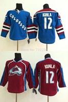 2015 New Arrival Colorado Avalanche Hockey Jerseys 12 Jarome Iginla Jersey,Free Shipping