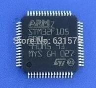 5PCS/LOT FREE SHIPPING STM32F105RBT6 LQFP64 Microcontrollers new&original