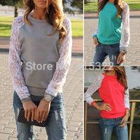 New Women's Fashion Hoodies Sweatshirt Casual Jacket Coat Outerwear Blouse Tops