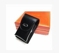 Dupont lighters broke slim leather case