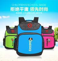2015 New PU leather waterproof kids backpacks lightening mochila school travel bag children school bags for primary girls boys