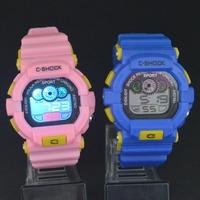 Women Men Colorful LED Electronic Multifunctional 30m Waterproof Swim Digital Rubber Wrist Watch 939
