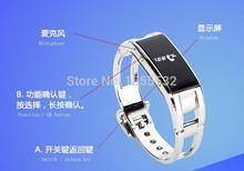 Smart Bluetooth bracelet watch bracelet pedometer may Caller ID Name speakerphone anti lost smartphone companion