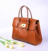 2014 brand name soft cow leather Bayswater shoulder bag fashion women tote handbag NO.5988-342