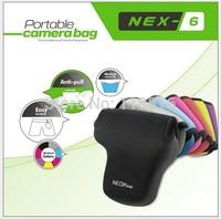 NEOpine Protective Waterproof Soft Case Bag Pouch Perfect For Sony NEX 6 NEX6 NEX 7 NEX7 18-55mm lens