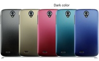 New Arrival 2pcs/lots Ultra-Thin dark color frosted anti-fingerprint hard plastic cover Case for Lenovo A850