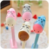 10pcs/lot Korea Stationery Cute Donkey Ball Pen Cartoon Ballpoint Pen School Office Supplies Student Gifts Wholesale
