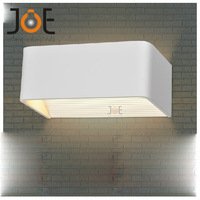 6W LED Aluminum wall Sconce lamp Bathroom light Modern wall mount lights cabinet lighting fixture Emitting Warm White 2 pcs/lot