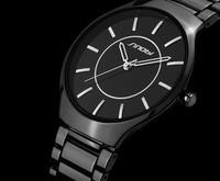 Men Stainless Steel Watches Quartz watch Men'S Watches Clock WristWatch Mens Watch 30 M Waterproof relogio masculinoAE002