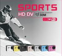 "New Version Original SJ6000 WIFI Action Camera 12MP Full HD 1080P 30FPS 2.0""LCD Diving 30M Waterproof Sport DV SJ6000 Camera"