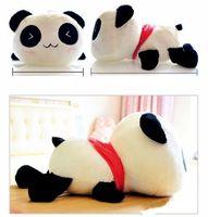 "Plush Doll Toy Stuffed Animal Cute Panda Pillow Quality Bolster Gift 30cm 12"""