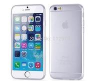 "2000pcs Ultra Thin Slim Soft TPU Clear Skin Case Cover For iPhone 6 4.7"" / Plus 5.5"""