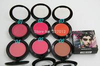 6pcs/lot New Brand LOOK INA BOX MINERALIZE BLUSH 12G Makeup blusher free shipping