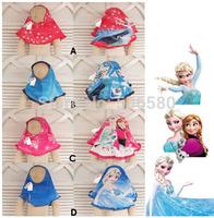 1 pcs retail ,Free Shipping Frozen Queen Headband Bandannas Headscarf  HeadBand For Children Kids Girls 2-7 Year Girl