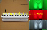 6pcs with fly case /lot wireless dmx led dj lights 9*15w rgbwa battery powered led moving bar