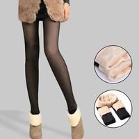 2014 plus velvet thickening autumn and winter thermal basic pants meat plus velvet legging female