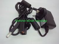 free shipping UK Plug Black Power Adapter for Xbox 360 Kinect Sensor