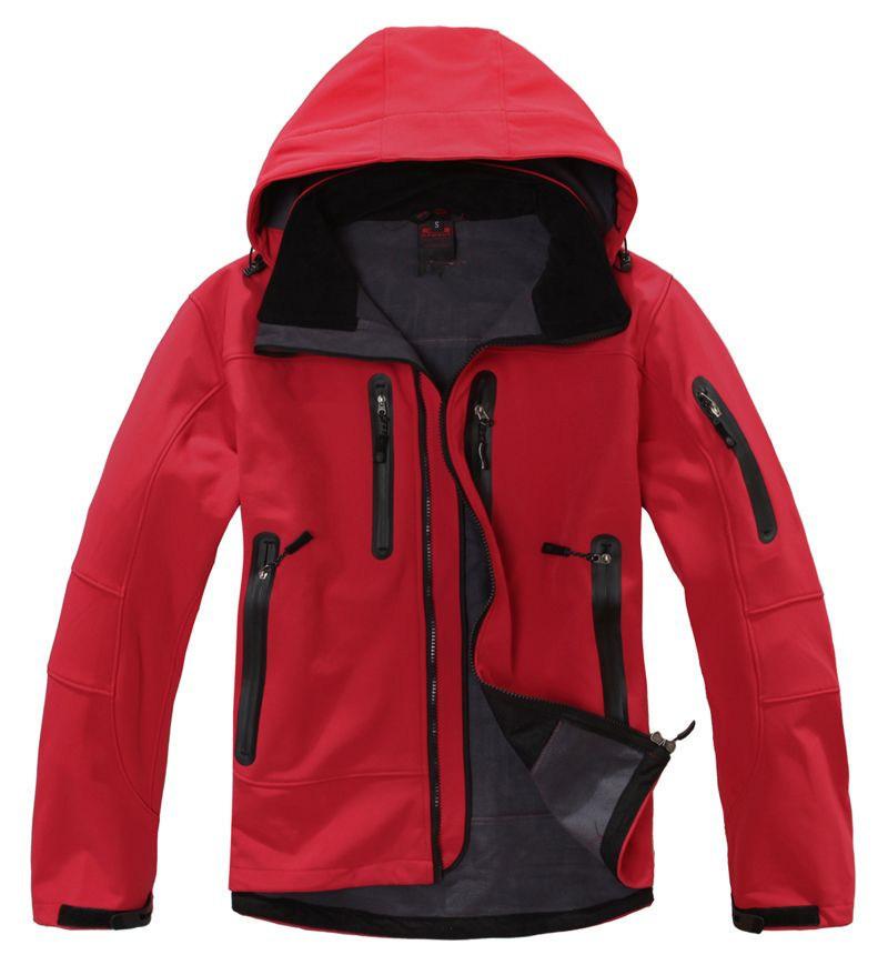 2014 new men outdoor camping&hiking jackets softshell free tech windstopper waterproof rain warm windbreaker(China (Mainland))