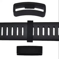 NEW!! Suunto Core Flat Elastomer Strap Black  Hoop /Loop/ Keeper/ Retainer (The Items Fits All Suunto Core Models)