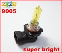 Original 2pcs/lot Headlight 9005 Amber / Yellow 100W Car Fog Light Xenon  Halogen 12V Lamp Light Bulbs ^PYH