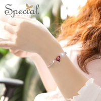 Special Winter New Arrival Fashion Style Bracelet & Bangle Western Style 925 Silver Free Shipping Gifts For Girls Women SL141217