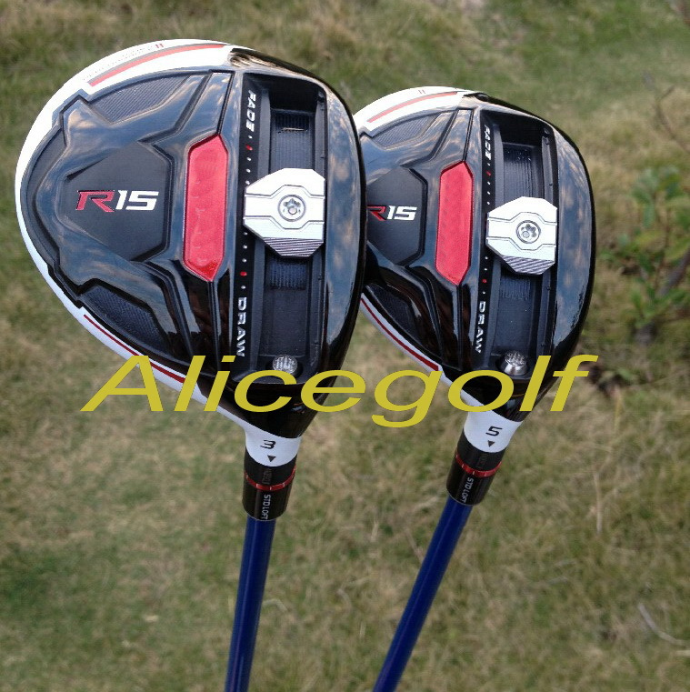 клюшка для гольфа Alicegolf 2015 OEM R15 3# 5# BB6 R15 Fairway Wood клюшка для гольфа nike vapor pro 2015