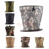 Military Molle Bag Tactical Magazine Dump Drop Utility Pouch Bag Tactical Magazine Recovery Dump Pouch L