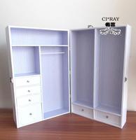 1/6 BJD DOLL furniture - wardrobe out box