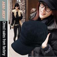 Free shipping 1pcs/ lot Hat female summer fashion lace cap navy cap winter captain cap autumn and winter women's beret