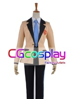 Free Shipping Cosplay Costume Gonna be the Twin-Tail!! Soji Mitsuka New in Stock Retail /Wholesale Halloween Party Uniform