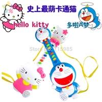 Hello Kitty Doraemon baby infant mini guitar keyboard electronic toy Children Toys Music kids music instrument toys free ship