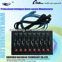 Best selling multi-socket gsm gprs 8 ports modem pool  Wavecom Q2403 GSM modem