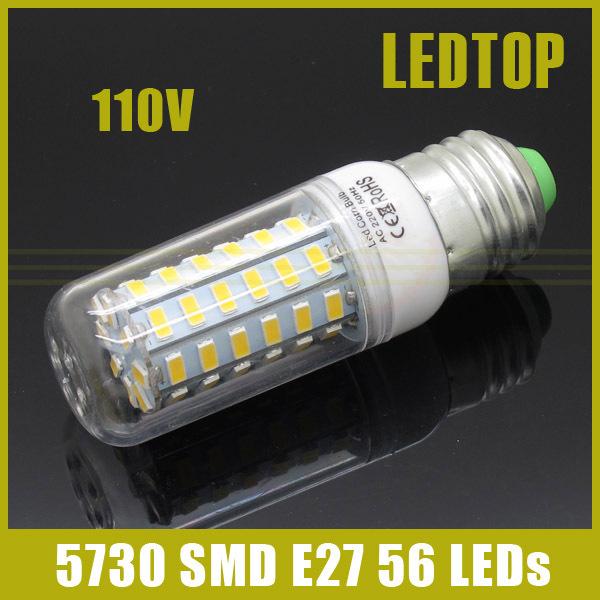 Светодиодная лампа OEM Lampada E27 AC 110V 127 20w smd 5730 & 2000LM 56LEDS
