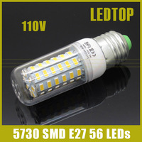Lampada Led lamp E27 AC 110V 127V 20w smd 5730 Corn Light Bulb Led Bulbs&Tubes Lumen Max 2000LM 56LEDS