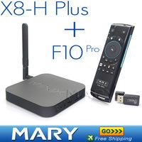 Mele F10 Pro+MINIX NEO X8-H Plus Android TV Box Amlogic S812 Quad Core 2.0GHz 2G/16G 2.4/5GHz WiFi H.265 4K 2160P XBMC Smart TV