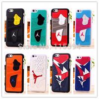 Hot selling ! Air man 3D Jordan Sneaker Sole Rubber Case for iPhone 6 plus Jumpman 23 Phone Back Case for iphone 6 plus 5.5''