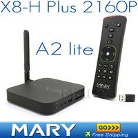 2014 NEW MINIX NEO X8-H Plus 4K 2160P Android TV Box Quad Core 2G/16G Smart TV Wifi XBMC Media Player + MINIX NEO A2 Lite