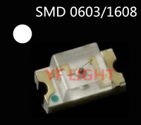 HIGH brightness 400-600MCD 1608 White chip led SMD 0603 LED 6000-7000 3.0-3.5V