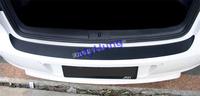 Car rear bumper sticker modification sticker scratch-resistant for Volkswagen golf 6 mk6 GTI carbon fiber sticker 1pcs