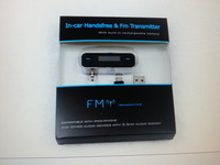 Universal 3.5mm FM transmitter for iPhone 6 & samsung 20pcs